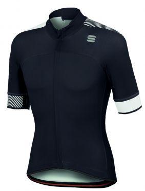 Sportful Bodyfit pro classics jersey korte mouw fietsshirt zwart/wit heren