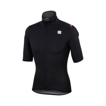 Sportful Fiandre light norain korte mouw fietsshirt zwart heren