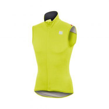 Sportful Fiandre light norain mouwloos vest geel heren