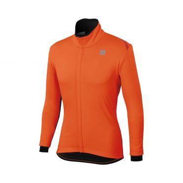 Sportful Fiandre cabrio lange mouw jacket oranje heren