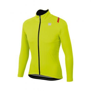 Sportful Fiandre ultimate 2 WS lange mouw jacket geel heren