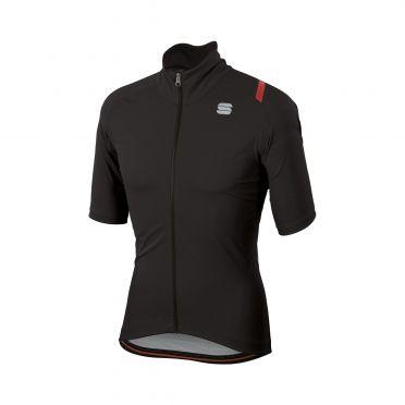 Sportful Fiandre ultimate 2 WS korte mouw jacket zwart heren