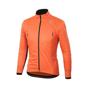 Sportful R&D intensity lange mouw jacket oranje heren