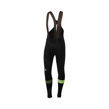 Sportful Bodyfit pro bibtight fietsbroek zwart/geel heren