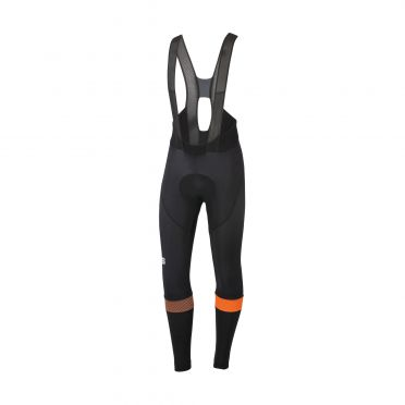 Sportful Bodyfit pro bibtight fietsbroek zwart/oranje heren