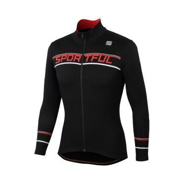 Sportful Giro thermal fietsshirt lange mouw zwart heren