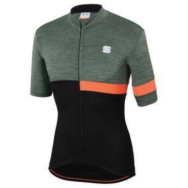 Sportful Giara Jersey groen/zwart heren