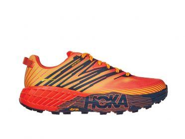 Hoka One One Speedgoat 4 GTX trail hardloopschoenen oranje heren