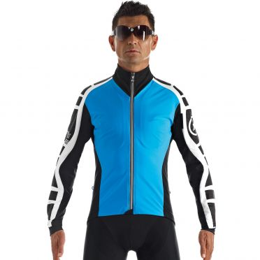 Assos iJ.bonKaCento.6 fietsjack blauw heren