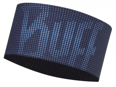 BUFF Headband deep logo dark navy