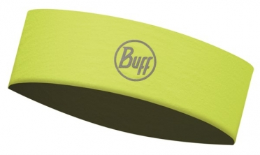 BUFF Headband slim R-solid yellow fluor