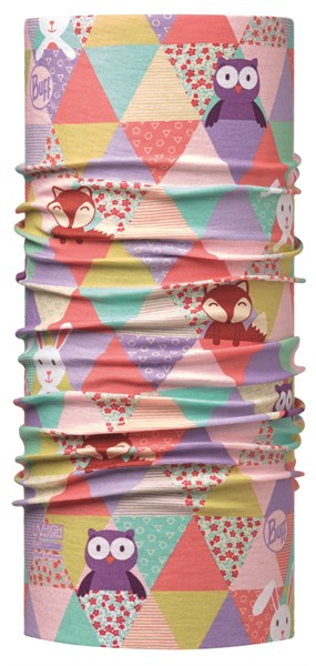BUFF Baby high uv patchwork animals multi