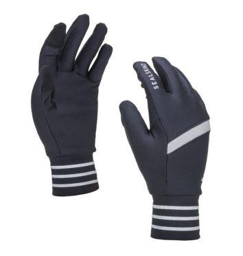 SealSkinz solo reflective handschoenen zwart/grijs