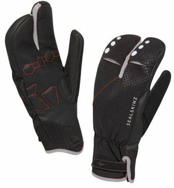 SealSkinz Highland claw fietshandschoenen zwart/zilver