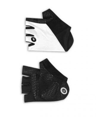 Assos summerGloves_s7 fietshandschoenen wit unisex
