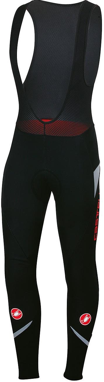 Castelli Polare 2 bibtight zwart/reflex heren