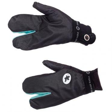 Assos ShellGloves_s7 fietshandschoenen zwart unisex