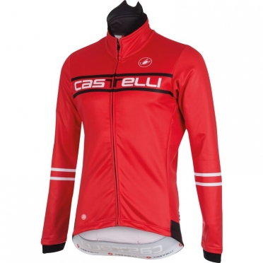 Castelli Segno jacket rood heren 15523-023