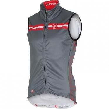 Castelli Free 3 vest turbulence/rood heren 15524-005