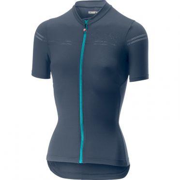 Castelli Promessa 2 fietsshirt blauw dames