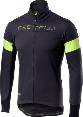 Castelli Transition jacket grijs/geel heren