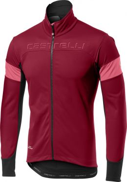 Castelli Transition jacket rood/paars heren