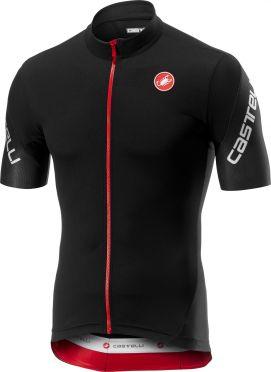Castelli Entrata 3 FZ fietsshirt korte mouw zwart heren