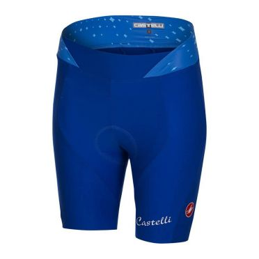 Castelli Stella short fietsbroek blauw dames