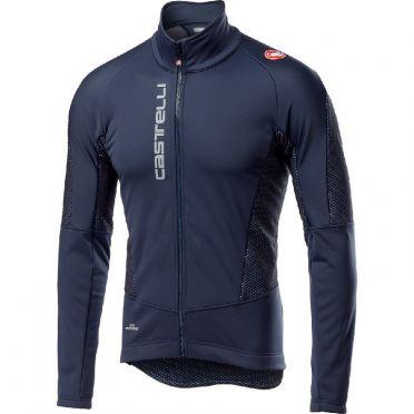 Castelli Mortirolo V jacket blauw heren