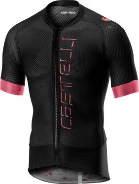 Castelli Climber's 2.0 FZ fietsshirt zwart/roze heren
