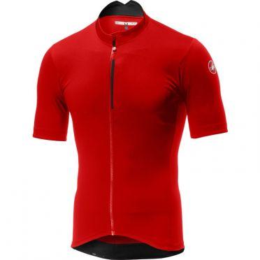 Castelli Espresso fietsshirt rood heren