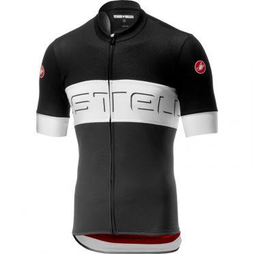 Castelli Prologo VI fietsshirt korte mouw zwart/grijs