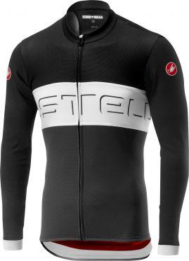 Castelli Prologo VI FZ fietsshirt lange mouw zwart/wit heren