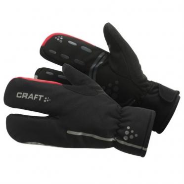 Craft Thermal Split Finger handschoenen zwart 1901624