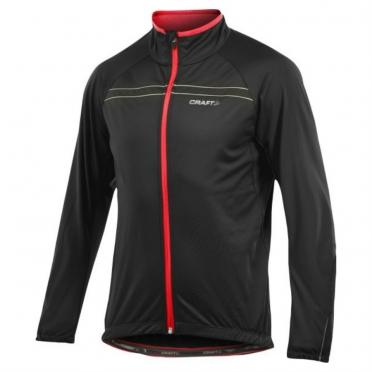 Craft Active Bike Siberian fietsjas heren zwart/rood