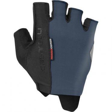 Castelli Rosso Corsa Espresso handschoen blauw heren