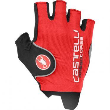 Castelli Rosso Corsa Pro handschoen rood heren