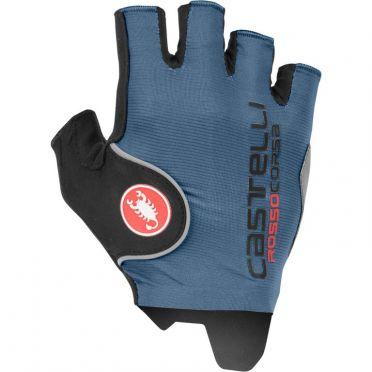 Castelli Rosso Corsa Pro handschoen blauw heren