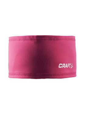 Craft Thermal hoofdband roze/ruby