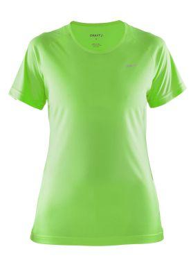Craft Prime korte mouw hardloopshirt groen dames