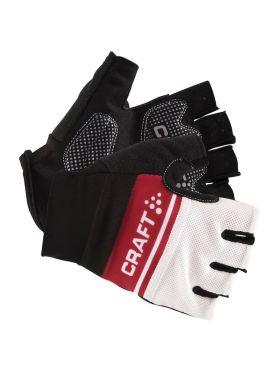 Craft Classic fietshandschoenen rood/wit heren