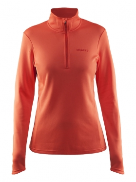 Craft Swift Half Zip Pullover dames roze oranje