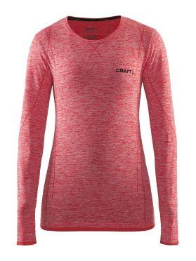Craft Active Comfort lange mouw ondershirt rood dames