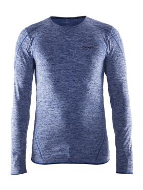 Craft Active Comfort roundneck long sleeve ondershirt blauw/deep heren