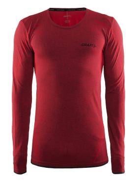 Craft Active Comfort roundneck long sleeve ondershirt rood/drama heren