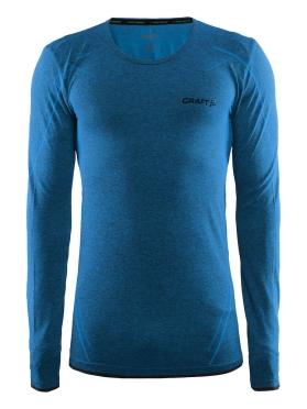Craft Active Comfort roundneck long sleeve ondershirt blauw/pacific heren