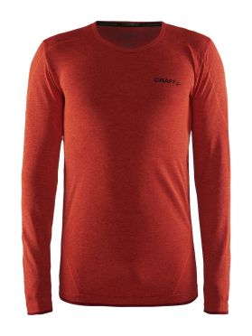 Craft Active Comfort lange mouw ondershirt rood/bolt heren