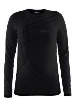 Craft Active Comfort LS shirt zwart/solid kind/JR