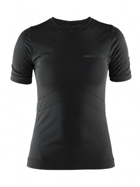 Craft Stay Cool Mesh Seamless shirt dames zwart