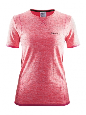 Craft Active Comfort roundneck short sleeve ondershirt roze dames